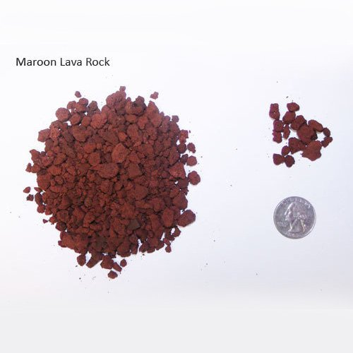 Maroon Lava Rock Bonsai Soil Artisans Bonsai